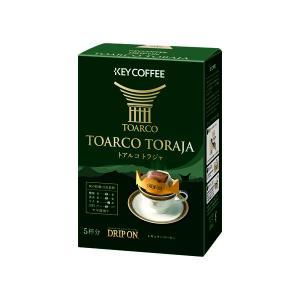 ドリップコーヒー キーコーヒー ドリップオン トアルコトラジャ 1箱(5袋入)