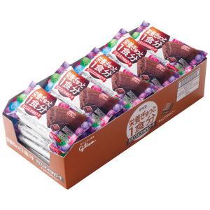 バランスオンminiケーキ チョコブラウニー 1箱(20個入) 江崎グリコ 栄養補助食品|y-lohaco