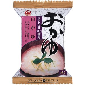 おかゆ 白がゆ 16g 1セット(6食入) アサヒグループ食品