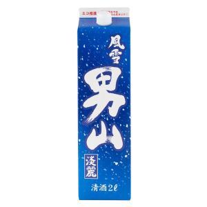 清酒 風雪  男山淡麗 2L  日本酒