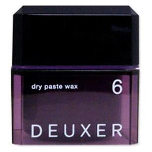 DEUXER(デューサー) ドライペーストワックス 6 80g 1個 ナンバースリー