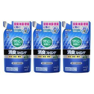 リセッシュ除菌EX消臭ストロング 詰替用320ml 293589 1セット(3個) 花王|y-lohaco