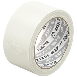 「現場のチカラ」  養生テープ  半透明 幅50mm×25m アスクル 1巻|LOHACO PayPayモール店