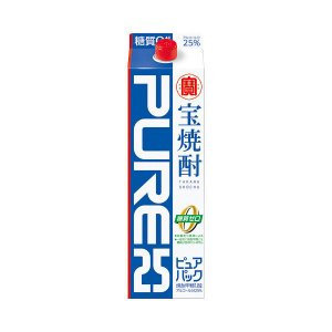 宝焼酎「ピュアパック」25度1.8Lパック