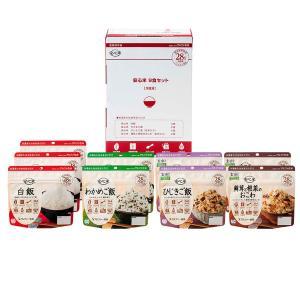 アルファー食品 非常食安心セット  1箱(9食入)|LOHACO PayPayモール店