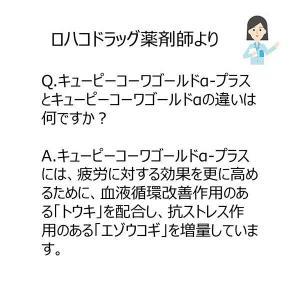 第3類医薬品キューピーコーワゴールドα-プラス 260錠 興和|y-lohaco|06
