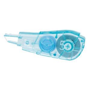 プラス 修正テープ ホワイパーPT 詰め替えテープ 幅5mm×6m ブルー 青 WH-645R|LOHACO PayPayモール店