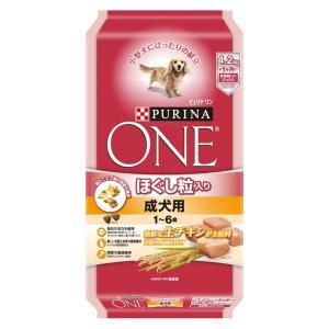 ピュリナワン(PURINA ONE)ドッグフード ほぐし粒入 成犬用 1〜6歳 チキン 4.2kg ...