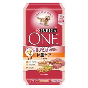 ピュリナワン(PURINA ONE)犬用 ほぐし粒入 体重ケア 1歳以上 ターキー 4.2kg 1袋...