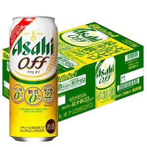 アサヒ アサヒオフ缶500ml×24缶 新ジャンル・第3のビール