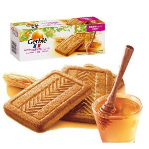 Gerbleハチミツ&全粒粉ビスケット5枚4袋入栄養補助食品|y-lohaco