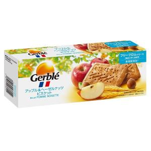 Gerble(ジェルブレ) アップル&ヘーゼルナッツビスケット 1箱(4枚×4袋入) 大塚製薬 栄養補助食品|y-lohaco