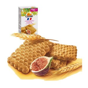 Gerble(ジェルブレ) イチジク&ブランビスケット ポケットサイズ(5枚入) 大塚製薬 栄養補助食品|y-lohaco