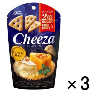 江崎グリコ 生チーズのチーザ カマンベール仕立て 1セット(3個)