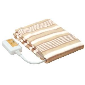 YAMAZEN 電気敷毛布 YMS-13 140×80cm 丸洗い 温度調節機能