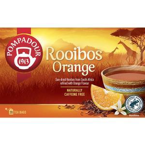 ポンパドール ルイボスティースウィートオレンジ 1箱(20バッグ入) 日本緑茶センター ノンカフェイ...