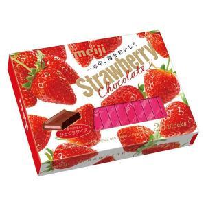 明治 ストロベリーチョコレートBOX 1箱