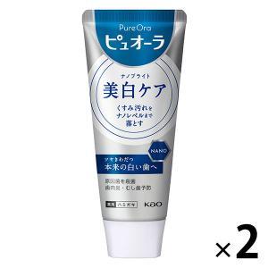 薬用ピュオーラ ナノブライト 115g 1セット(2本) 花王 歯磨き粉 I5MmU4MzAx