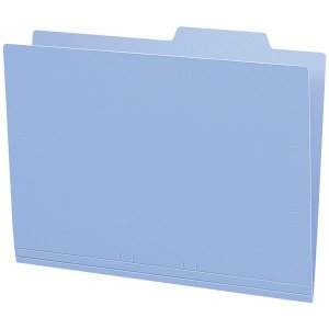コクヨ 個別フォルダーPP製 青 A4-IFH-B 1袋 5冊入 の商品画像|ナビ