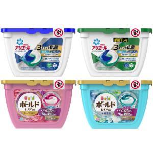 ボールド&アリエール ジェルボール本体 4種セット(各18粒入) 洗濯洗剤 P&G