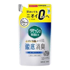 リセッシュ除菌EX 香り残らない 詰め替え 320ml 花王|y-lohaco