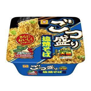 マルちゃん ごつ盛り 塩焼そば 1セット(3食入) 東洋水産|y-lohaco
