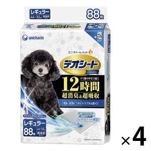 箱売り デオシート プレミアム レギュラー 88枚×4袋 ユニ・チャーム