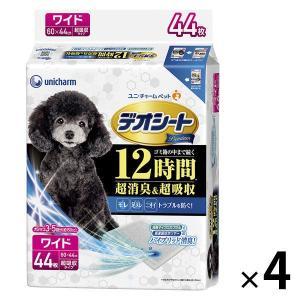 箱売り デオシート プレミアム ワイド 44枚×4袋 ユニ・チャーム