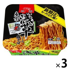 サッポロ一番 旅麺 浅草ソース焼そば 1セット(3食)|y-lohaco