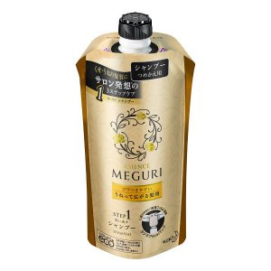アジエンス メグリ (MEGURI) ゴワつきやすい うねって広がる髪用 シャンプー 詰め替え 340ml 花王|y-lohaco