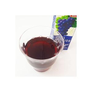 アウトレットエルビー Fruits Selection グレープ 2031 1箱(200ml×24本入)|y-lohaco|02