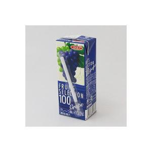 アウトレットエルビー Fruits Selection グレープ 2031 1箱(200ml×24本入)|y-lohaco|04
