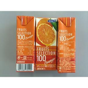 アウトレットエルビー Fruits Selection オレンジ 200ml 2029 1箱(200ml×24本入)|y-lohaco|02