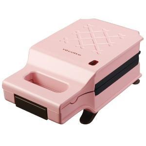 キッチン家電 ウィナーズ レコルト RPS-1PK プレスサンドメーカーキルト ピンク