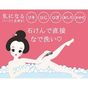 泥炭石 ボディスクラブ石鹸 100g ペリカン石鹸|y-lohaco|04