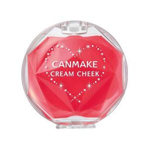 CANMAKE(キャンメイク) クリームチーク CL08 クリアキュートストロベリー(クリアタイプ)...