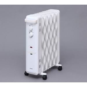 アイリスオーヤマ ウェーブ型オイルヒーター メカ式 白 IWH-1210K-W(562061)