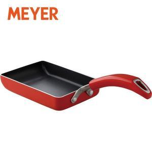 MEYER(マイヤー) イタリアンレッド2 エッグパン M IH対応 MIR2-EM 1個|y-lohaco