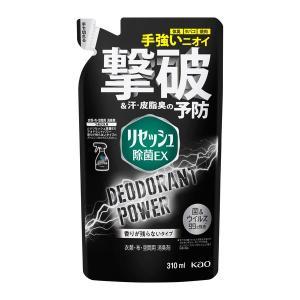 リセッシュ除菌デオドラントパワー 香り残らない 詰め替え 310ml 花王|y-lohaco