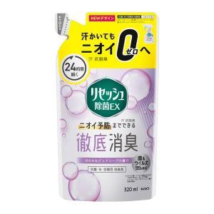 リセッシュ除菌EX ピュアソープの香り 詰め替え 320ml 花王|y-lohaco