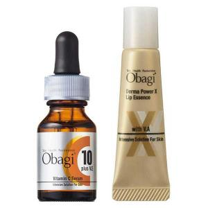 Obagi(オバジ) C10セラム 12mL &ダーマパワーXリップエッセンス ロート製薬