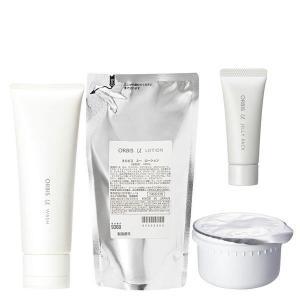 数量限定ORBIS(オルビス) オルビスユー 3stepセット(洗顔・化粧水替・保湿液替)+ジェルパックミニ|y-lohaco