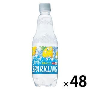 サントリーフーズ 南アルプス スパークリングレモン 500ml 1セット(48本)|y-lohaco