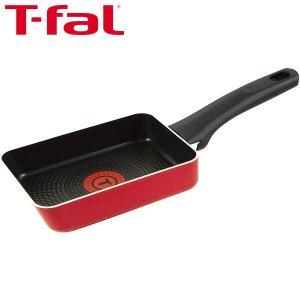T-fal(ティファール)フェアリーローズ エッグロースター(卵焼きパン)12×18cm ガス火専用...