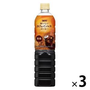 おいしいカフェインレスコーヒー 無糖 930ml 3本|y-lohaco