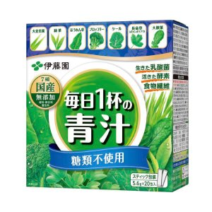 伊藤園 毎日1杯の青汁(粉末タイプ) 糖類不使用 5.6g×20包入