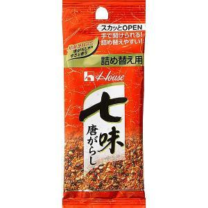 ハウス食品 七味唐がらし 袋入り 詰め替え用 12g