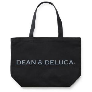DEAN&DELUCA(ディーンアンドデルーカ) トートバッグ ブラック Lサイズ 1個|y-lohaco