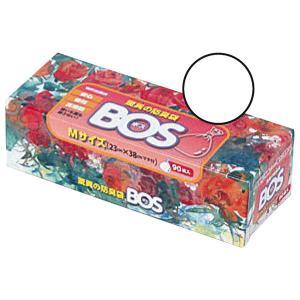 クリロン化成 驚異の防臭袋BOS 箱型 Mサイズ ポリ袋(規格袋) 1箱(90枚入)|LOHACO PayPayモール店