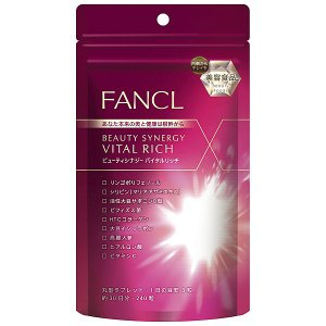 ファンケル ビューティシナジー バイタルリッチ 約30日分 240粒 美容サプリメント|y-lohaco